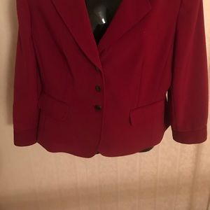 NEW Dark red women's business suit